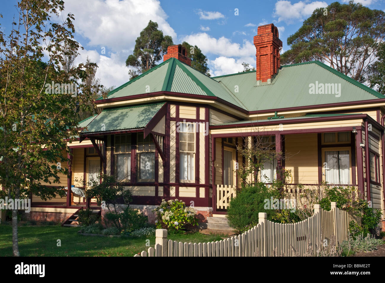 Australia New South Wales A Lovely Old Colonial Style House At