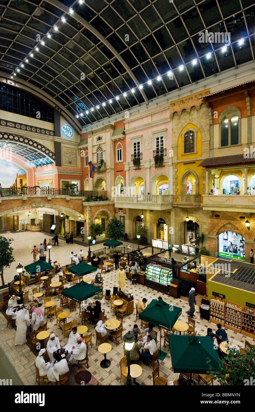 Mercato Mall Dubai - Stock Image