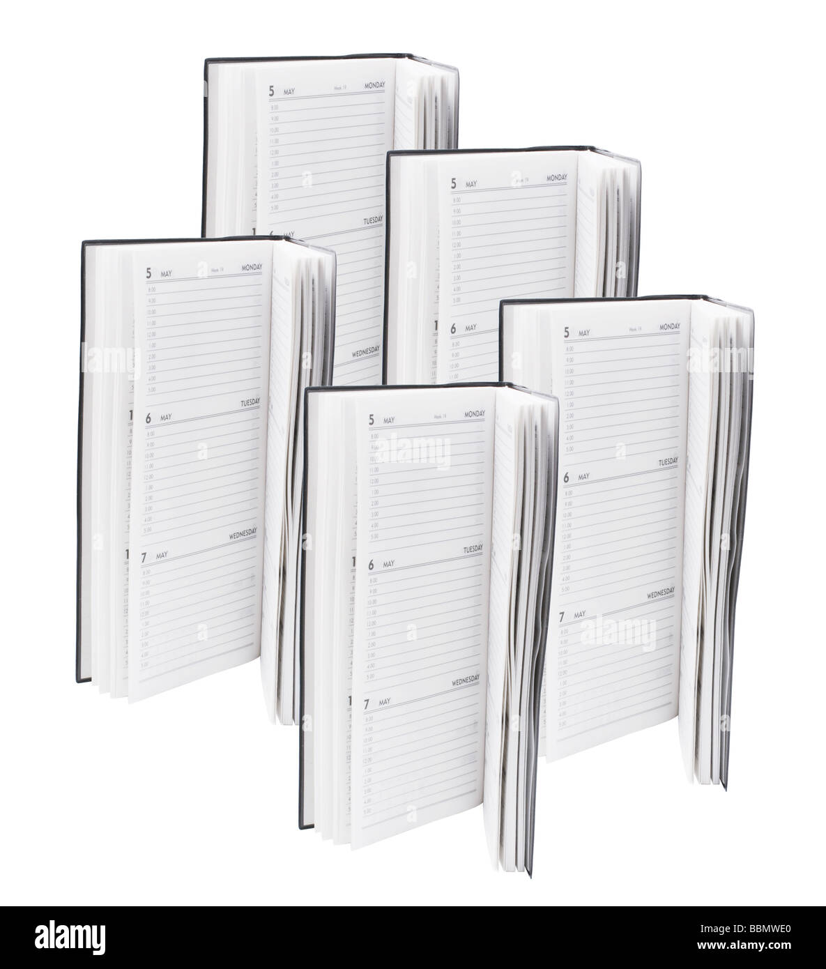 Pocket Planners - Stock Image