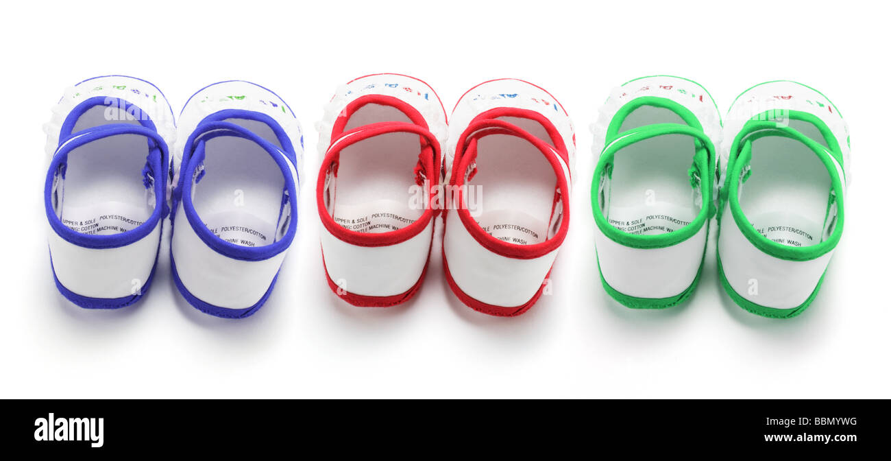 Baby Shoes - Stock Image