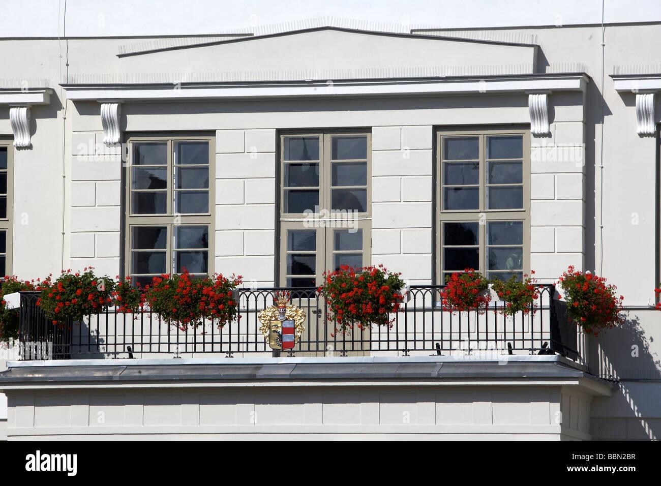 City hall, Wismar, Mecklenburg-Western Pomerania, Germany, Europe - Stock Image