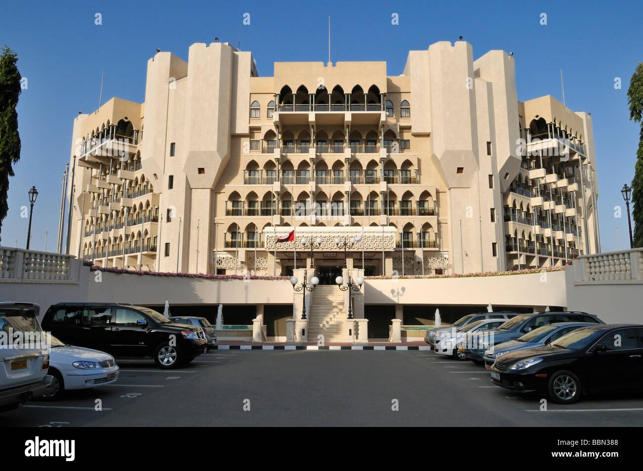 Five Star Hotel Al Bustan Palace Muscat Sultanate Of Oman Arabia Stock Photo Alamy
