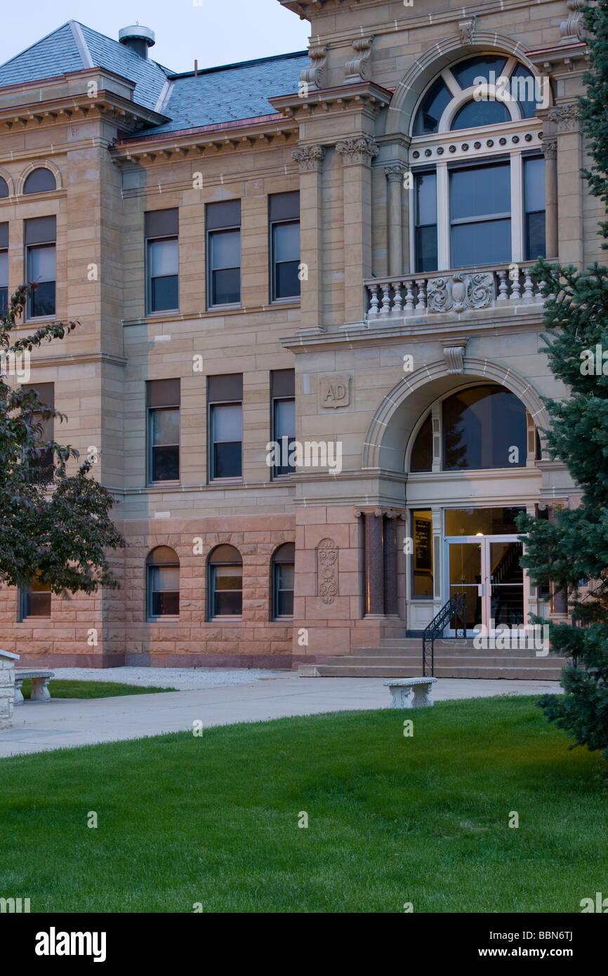 Benton County Courthouse, Vinton, Iowa, USA Stock Photo