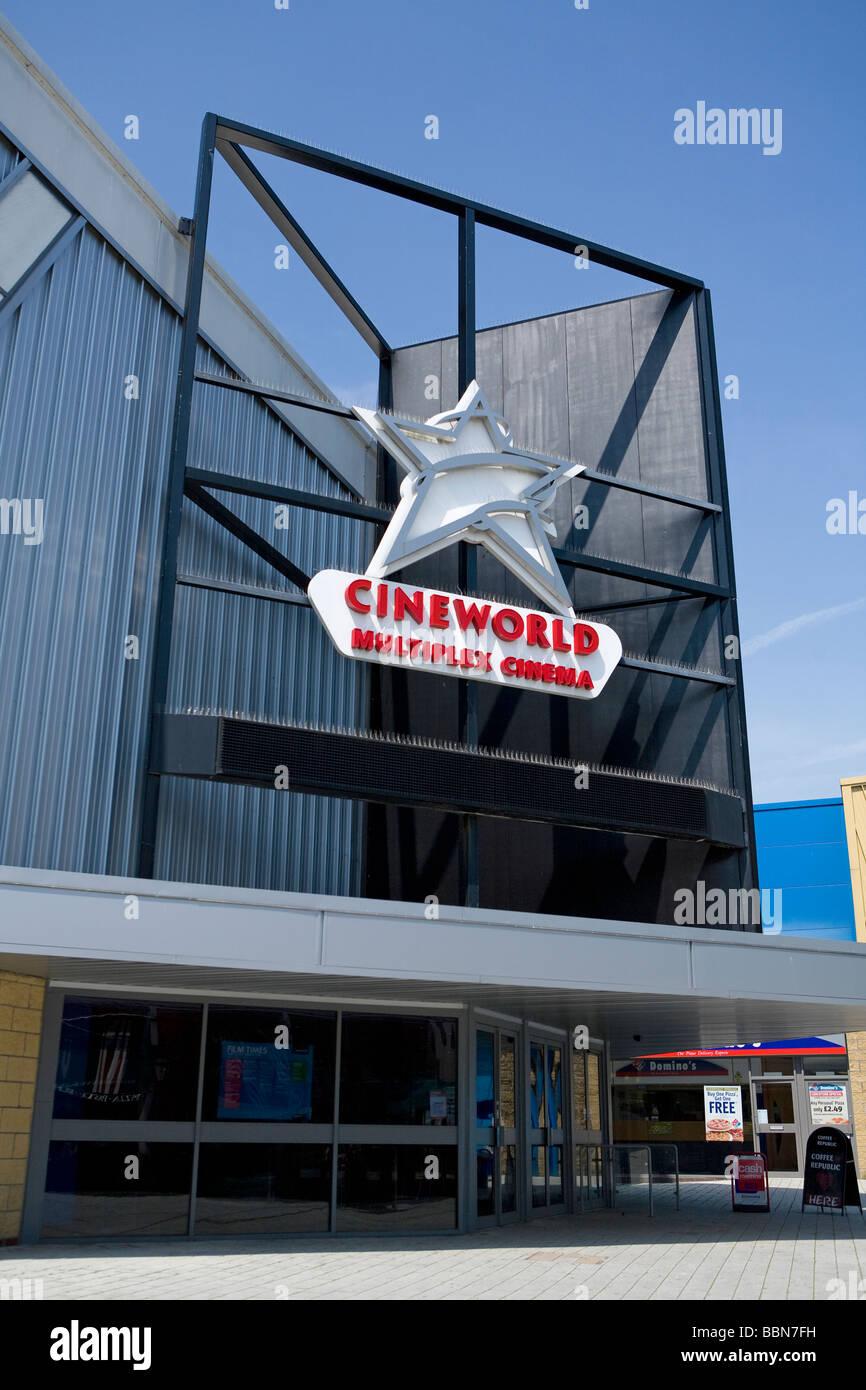 Cineworld Multiplex Cinema Chichester West Sussex UK - Stock Image