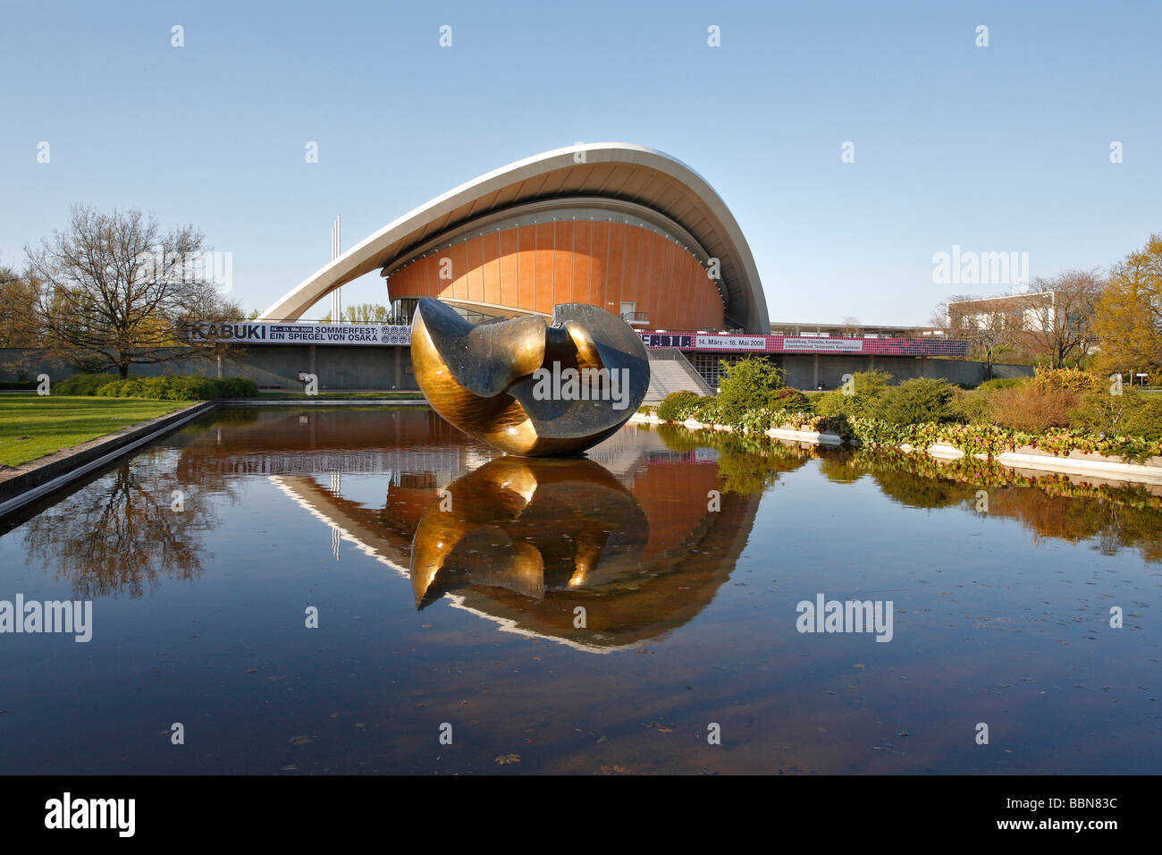 House of World Cultures, HdKW in Berlin, Germany, Europe - Stock Image