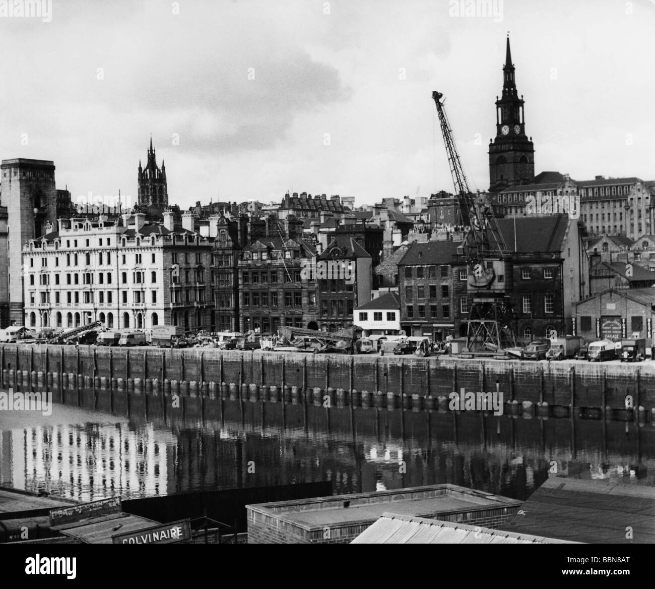 geography / travel, Great Britain, cities, Newcastle-on-Tyne, city views / cityscapes, 1960s, Additional-Rights - Stock Image