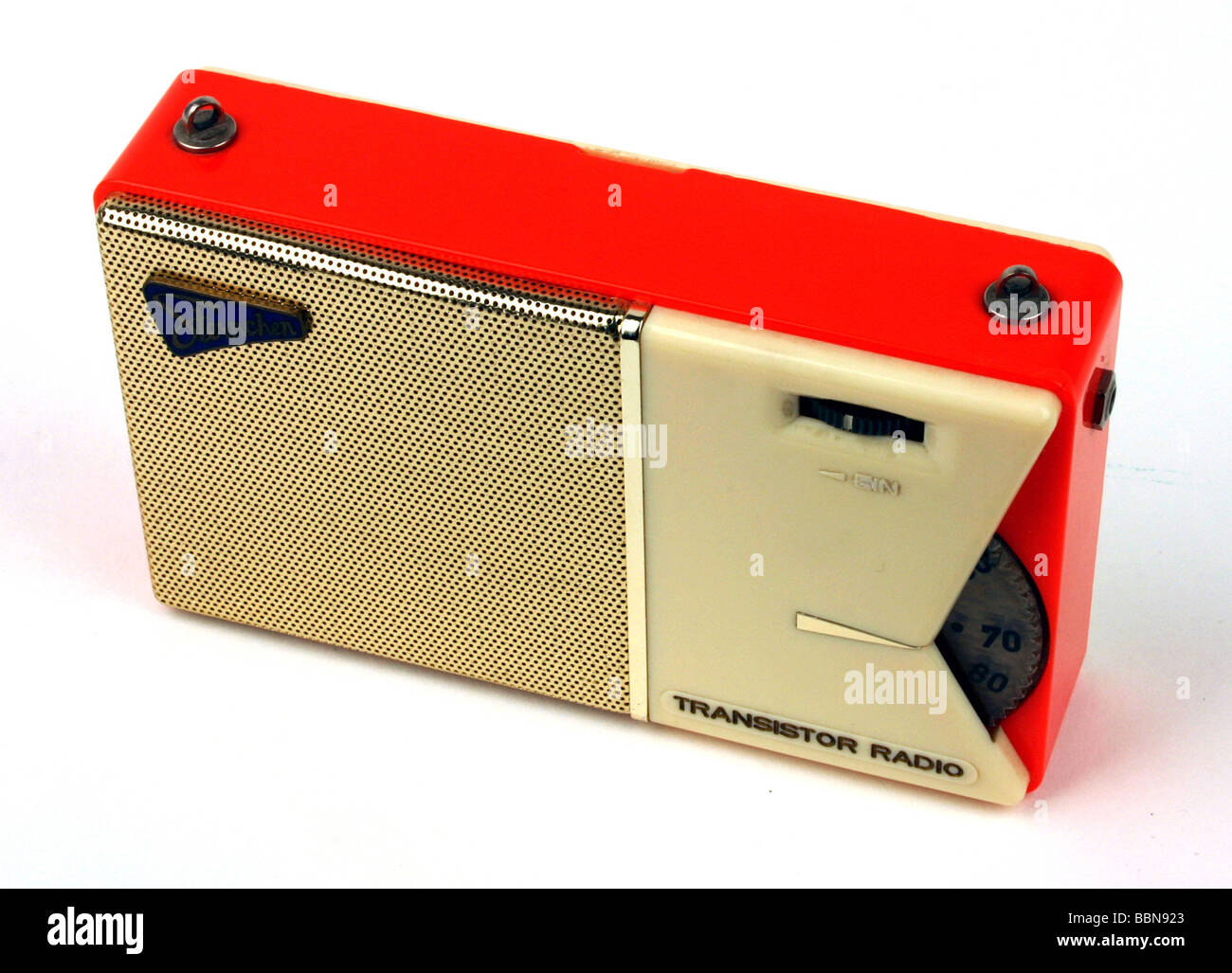 broadcast, radio, radio sets, pocket radio 'Sternchen', original version with metal supplement, made by - Stock Image