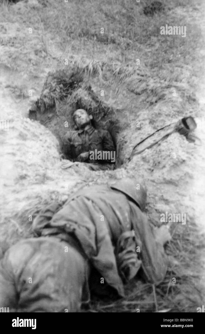events second world war wwii russia fallen soldiers dead