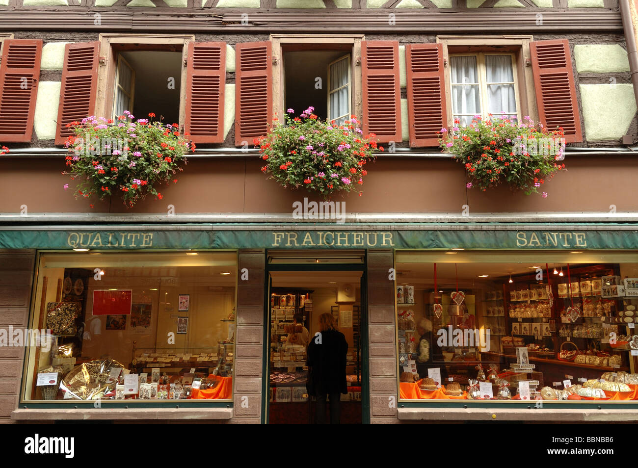 low priced 32fe9 6d07f Cake shop Colmar Alsace France Stock Photo: 24441514 - Alamy