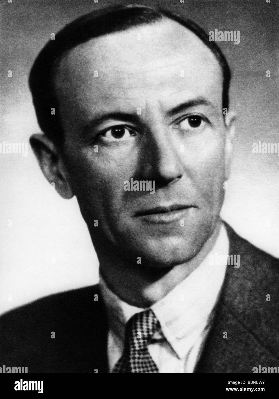 Chadwick, James, 20.10.1891 - 24.7.1974, British scientist (physicist), portrait, 1930s, 30s, Additional-Rights - Stock Image