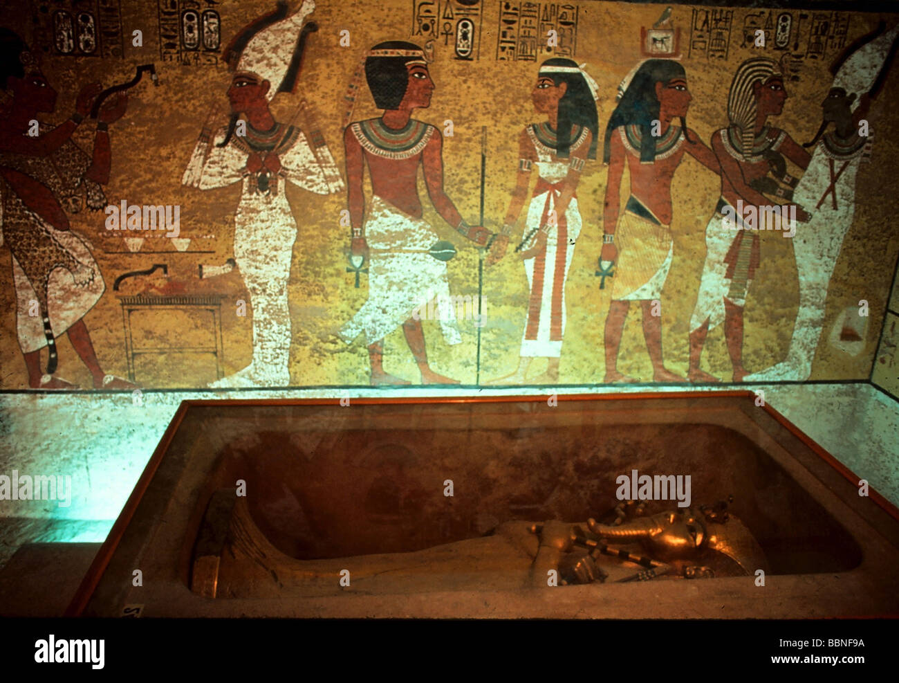 Tutankhamun, King of Egypt, 1333 - 1323 BC, 18th Dynasty, grave, Egypt, Additional-Rights-Clearances-NA - Stock Image