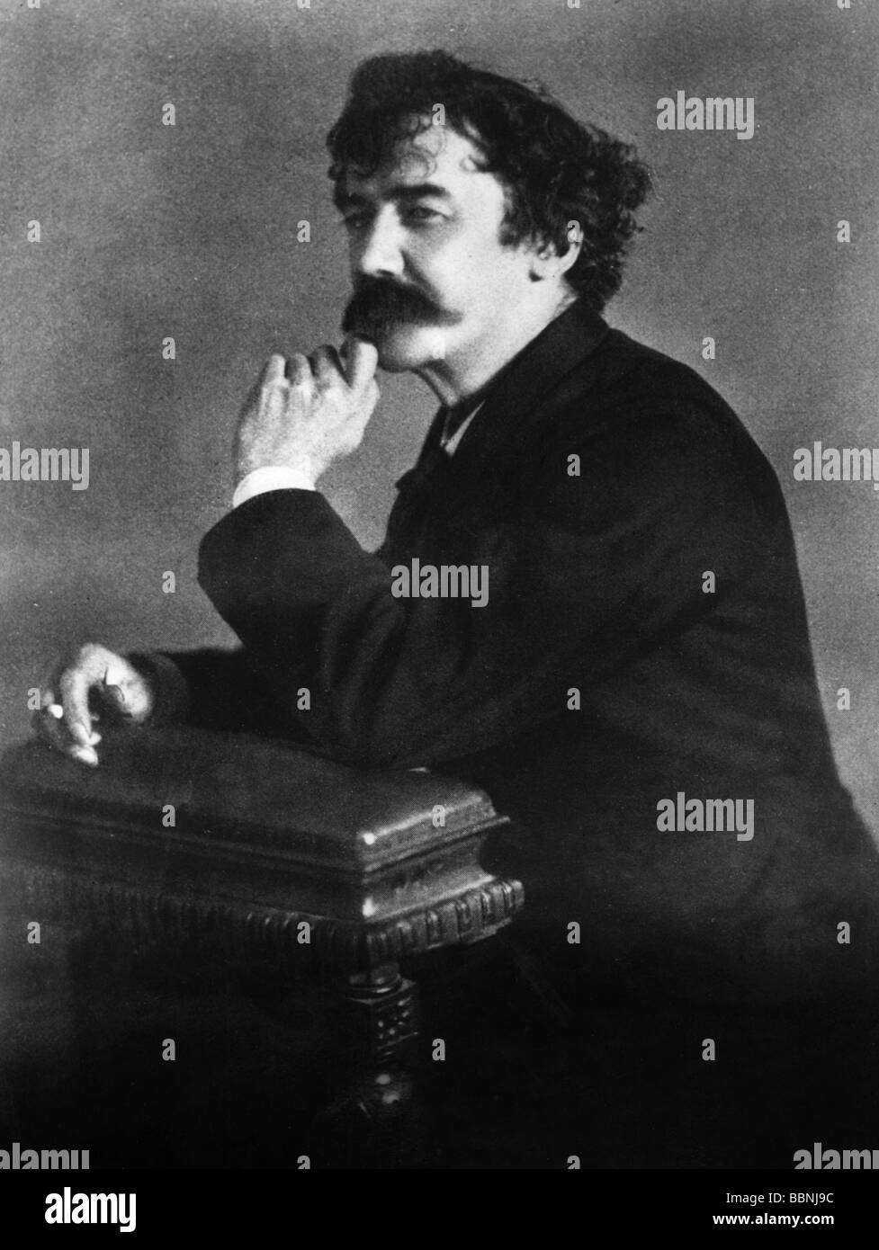 Whistler, James Abbot McNeill, 10.7.1834 - 17.7.1903, US painter, photo, 19th century, Additional-Rights-Clearances - Stock Image
