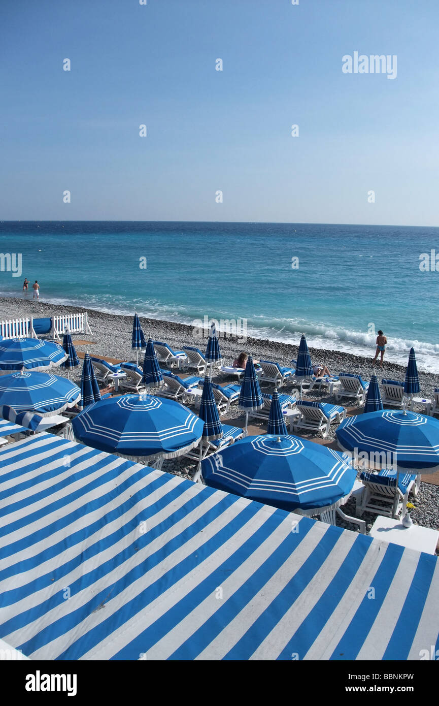 geography / travel, France, Cote d\'Azur, Nice, beaches, bathing ...