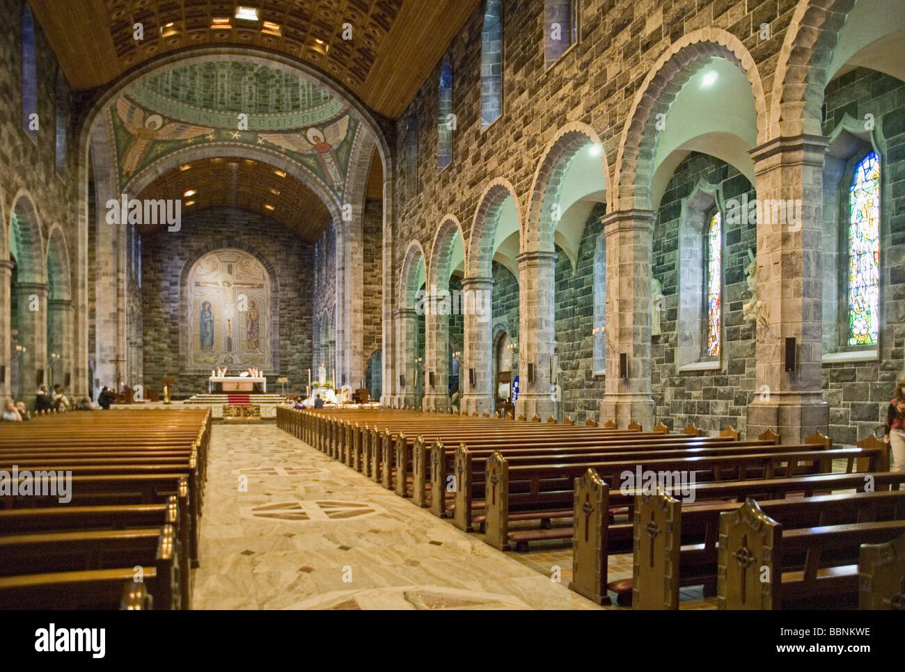 geography / travel, Ireland, Connacht, Galway, churches, Cathedral of Our Lady Assumed into heaven and St. Nicholas, - Stock Image