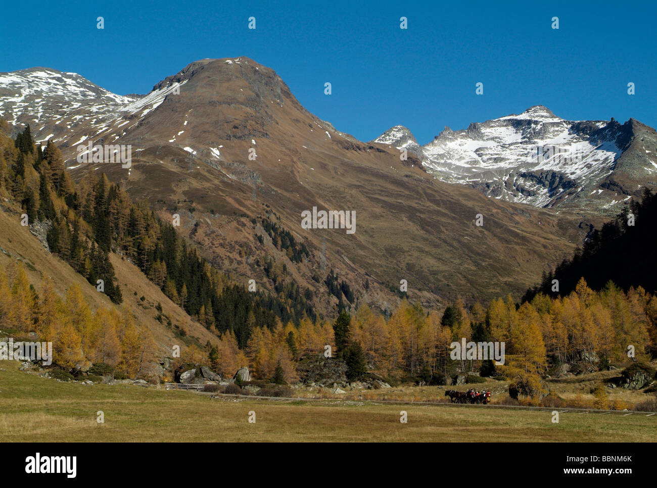 geography / travel, Austria, Tyrol, Gschloesstal, Hohe Tauern, Additional-Rights-Clearance-Info-Not-Available Stock Photo