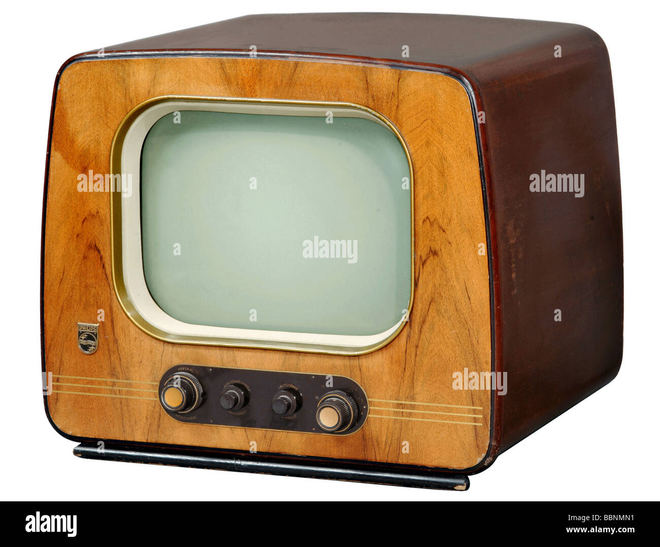 broadcast, television, tv sets, tv set Philips TD 1422A, Germany, 1953, Additional-Rights-Clearances-NA - Stock Image