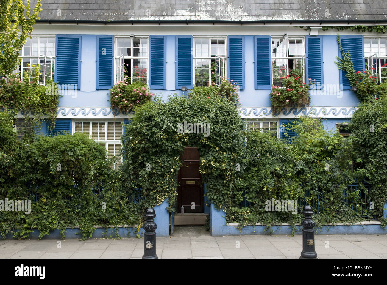 geography / travel, Great Britain, London, Notting Hill, Portobello Road, cottage, Additional-Rights-Clearance-Info - Stock Image