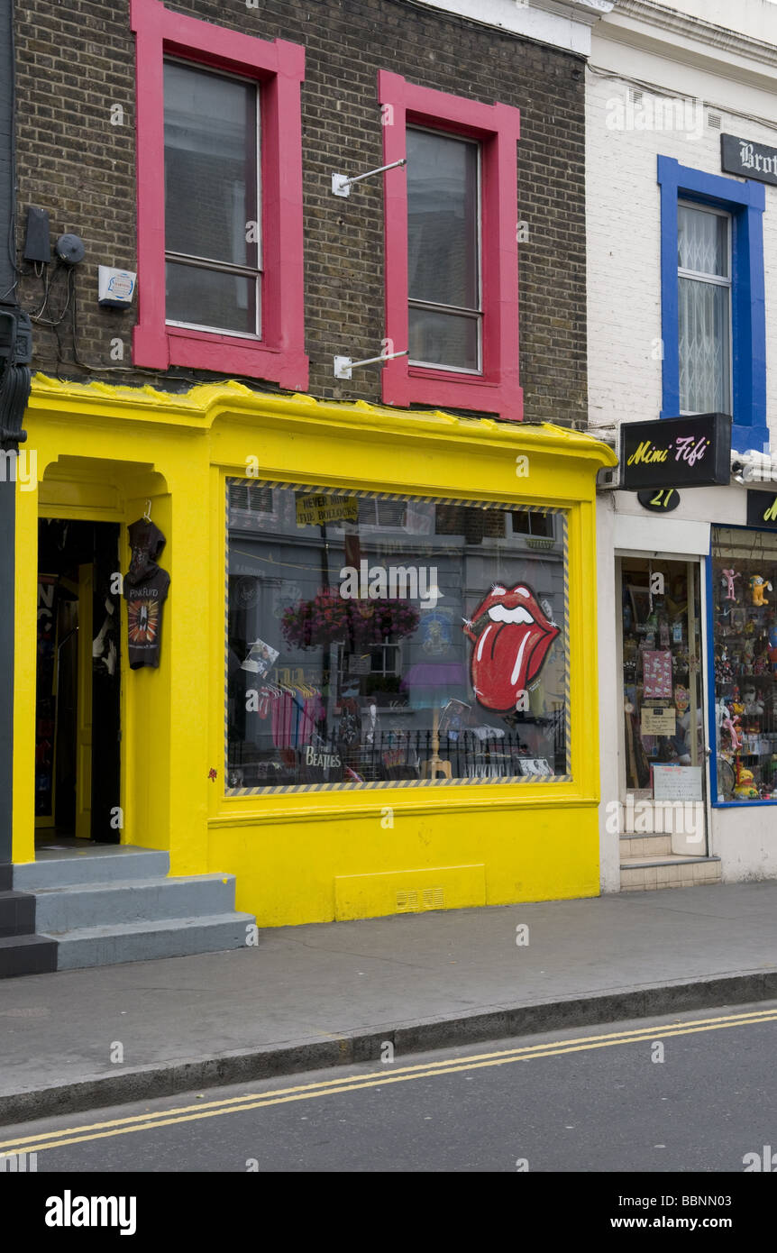 geography / travel, Great Britain, London, Notting Hill, Portobello Road, Additional-Rights-Clearance-Info-Not-Available - Stock Image