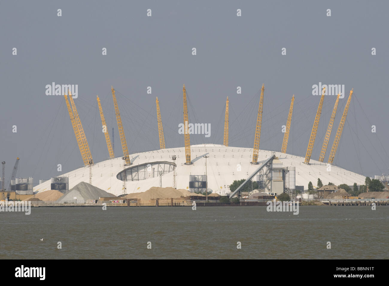 geography / travel, Great Britain, London, The Millennium Dome, exterior view, Additional-Rights-Clearance-Info - Stock Image