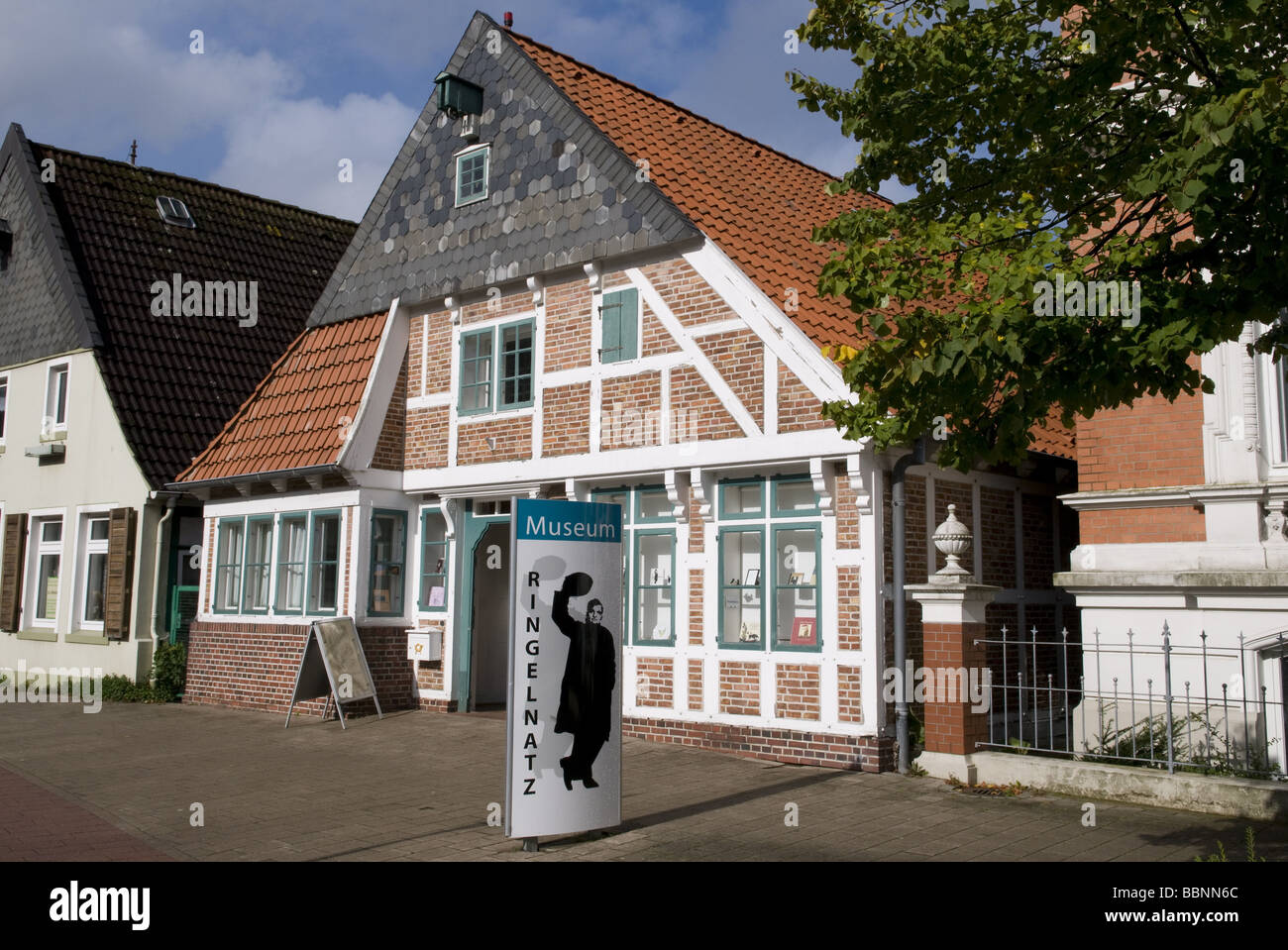 geography / travel, Germany, Lower Saxony, Cuxhaven, Ringelnatz Museum, exterior view, Additional-Rights-Clearance - Stock Image