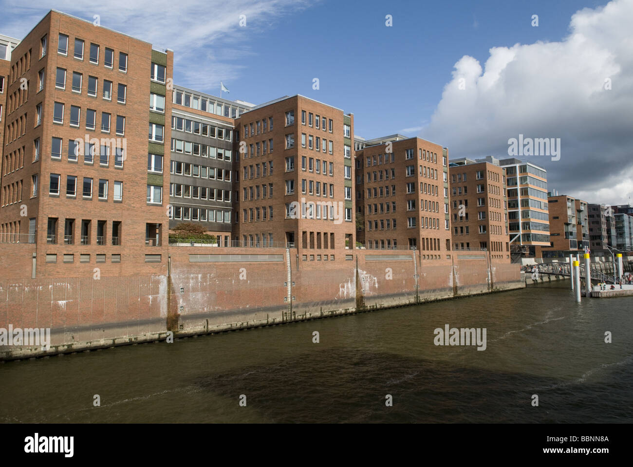 geography / travel, Germany, Hamburg, HafenCity, Additional-Rights-Clearance-Info-Not-Available - Stock Image