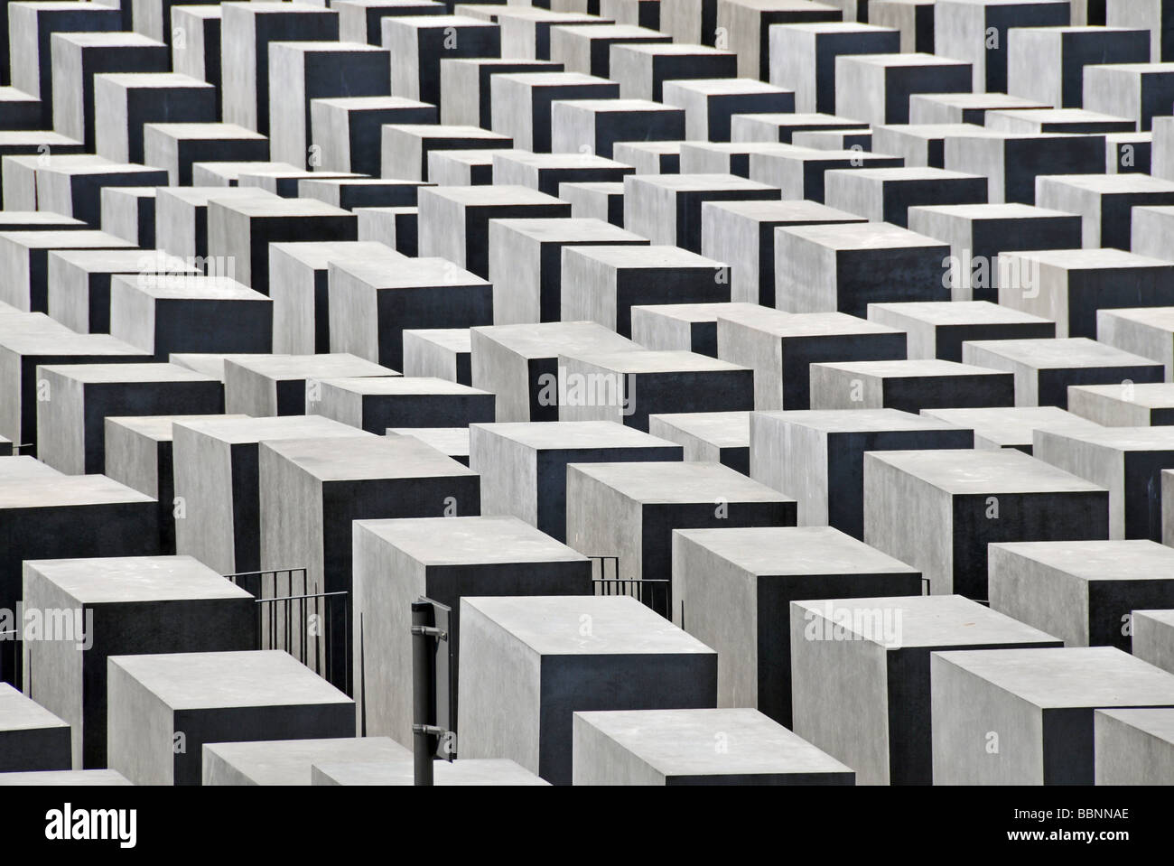 geography / travel, Germany, Berlin, monument for the killed Jews of Europe, Additional-Rights-Clearance-Info-Not Stock Photo