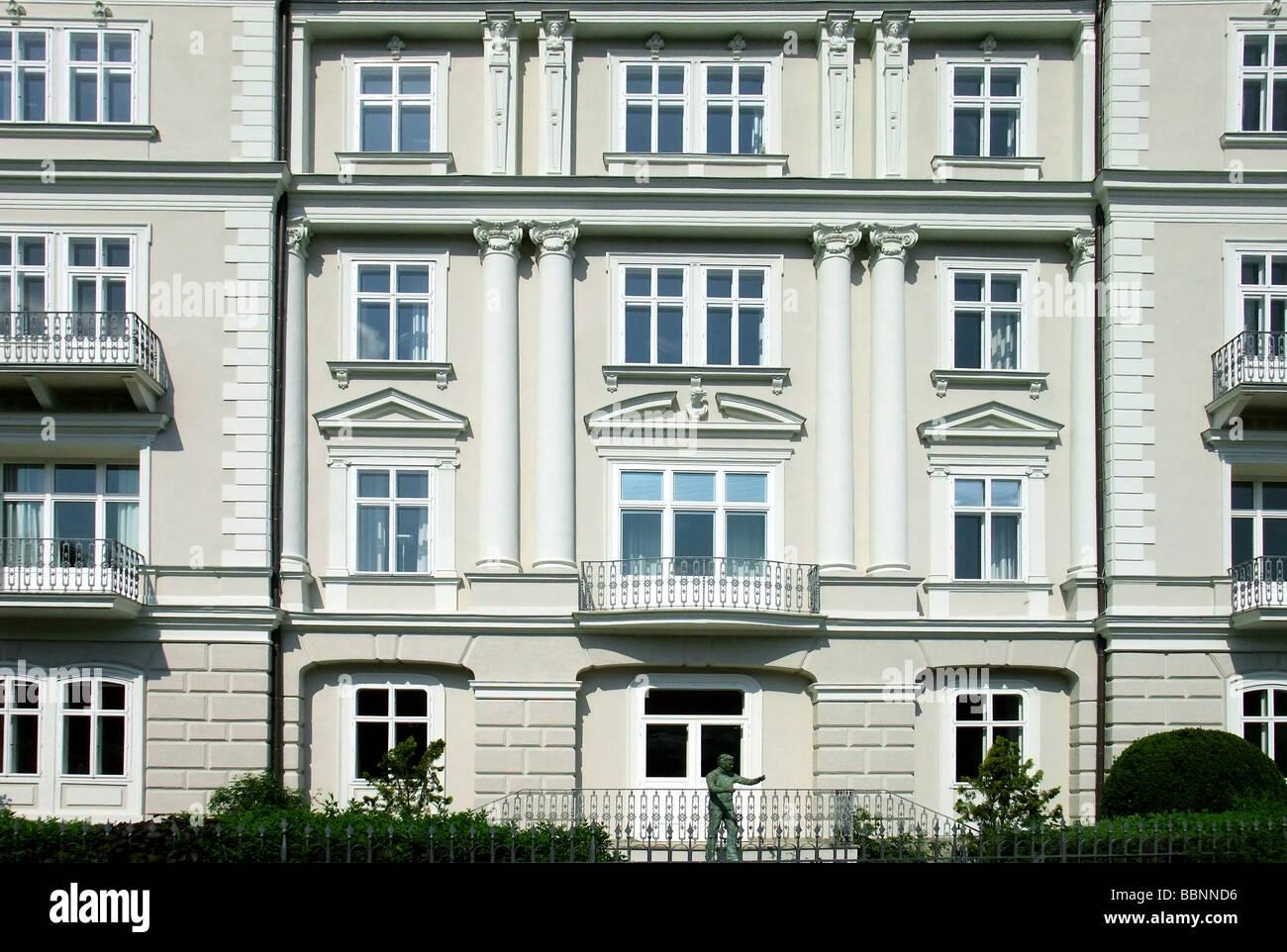 geography / travel, Austria, Salzburg, birth house of Herbert von Karajan, exterior view, Additional-Rights-Clearance - Stock Image