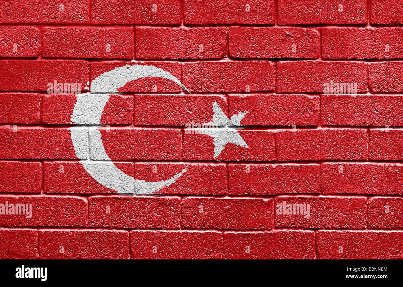 Flag of Turkey - Stock Image