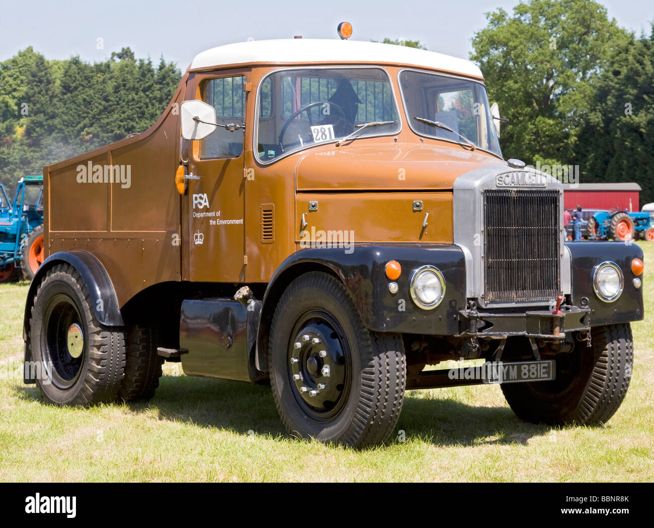 Scammell 1 - Stock Image