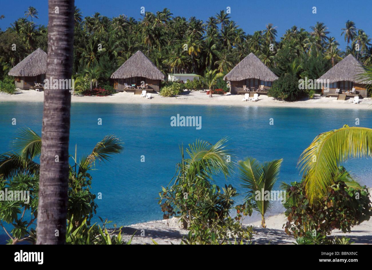 Le Meridien Bora Bora Tahiti Stock Photo 24453560 Alamy
