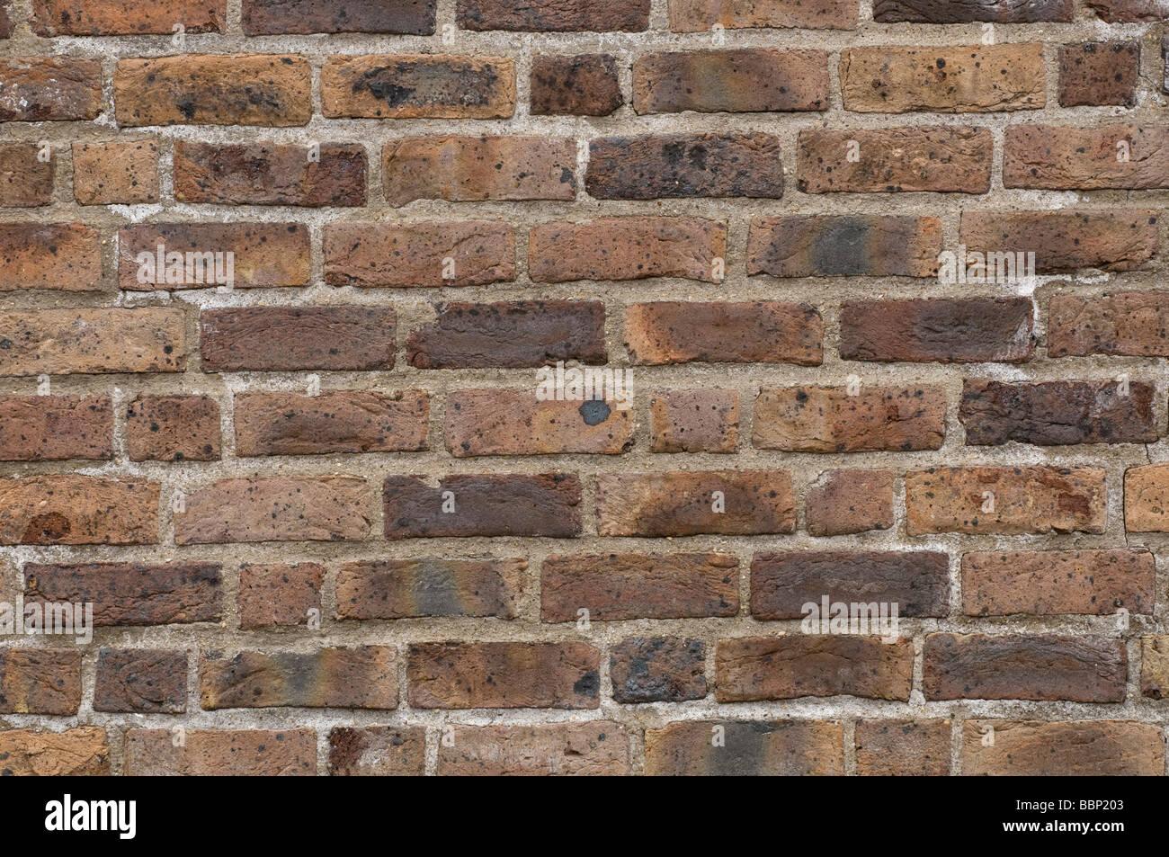 Rustic brick wall - Stock Image
