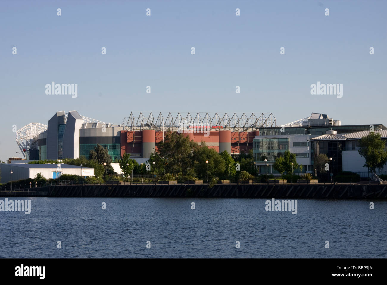 manchester united football ground - Stock Image