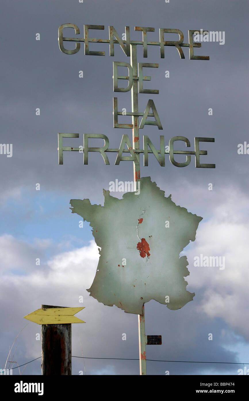 THE CENTER OF FRANCE, NASSIGNY, ALLIER (03), FRANCE - Stock Image