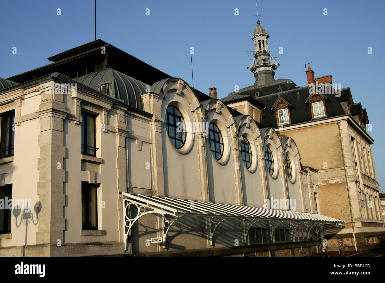 THEATER, COMMENTRY, ALLIER (03), FRANCE - Stock Image