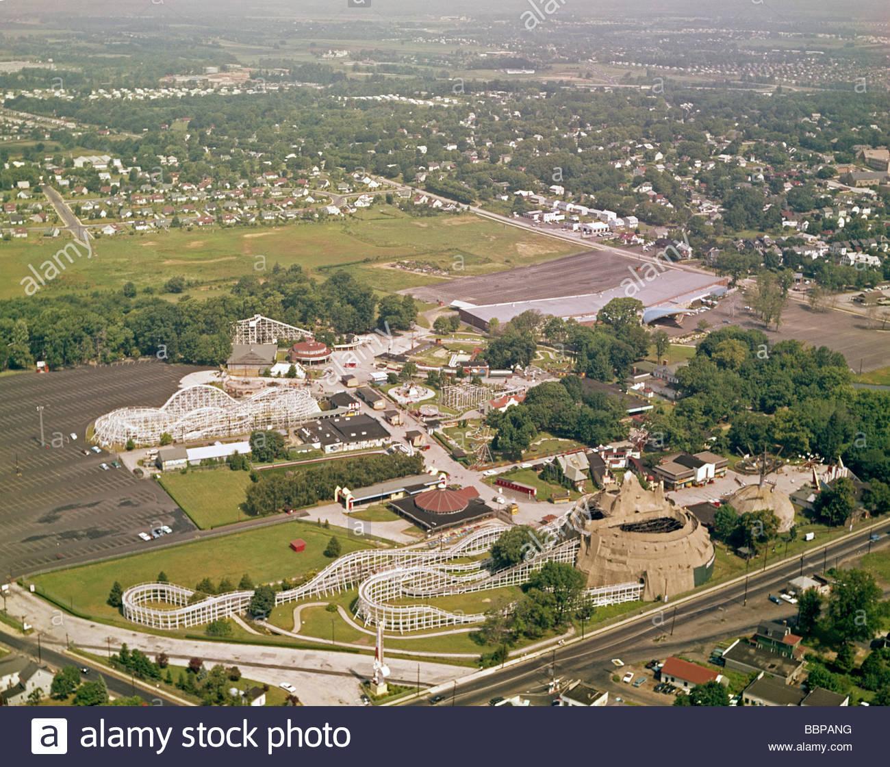Willow Grove Amusement Park In Willow Grove, Pennsylvania