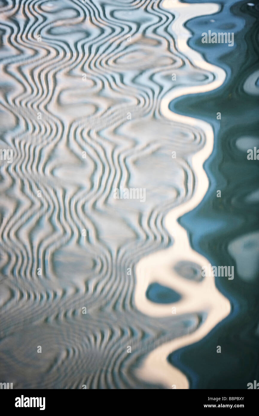 Reflection in Water - Stock Image