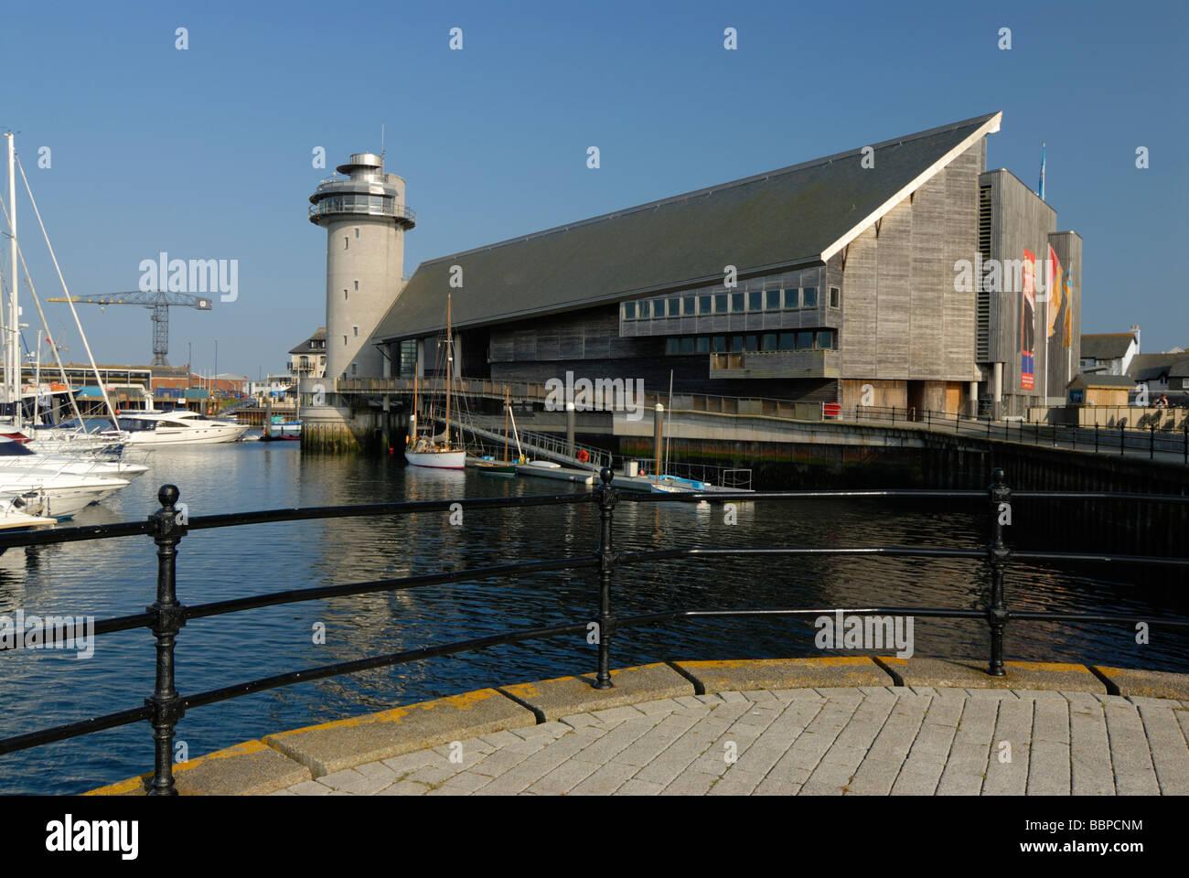 National Maritime Museum Falmouth Cornwall UK - Stock Image