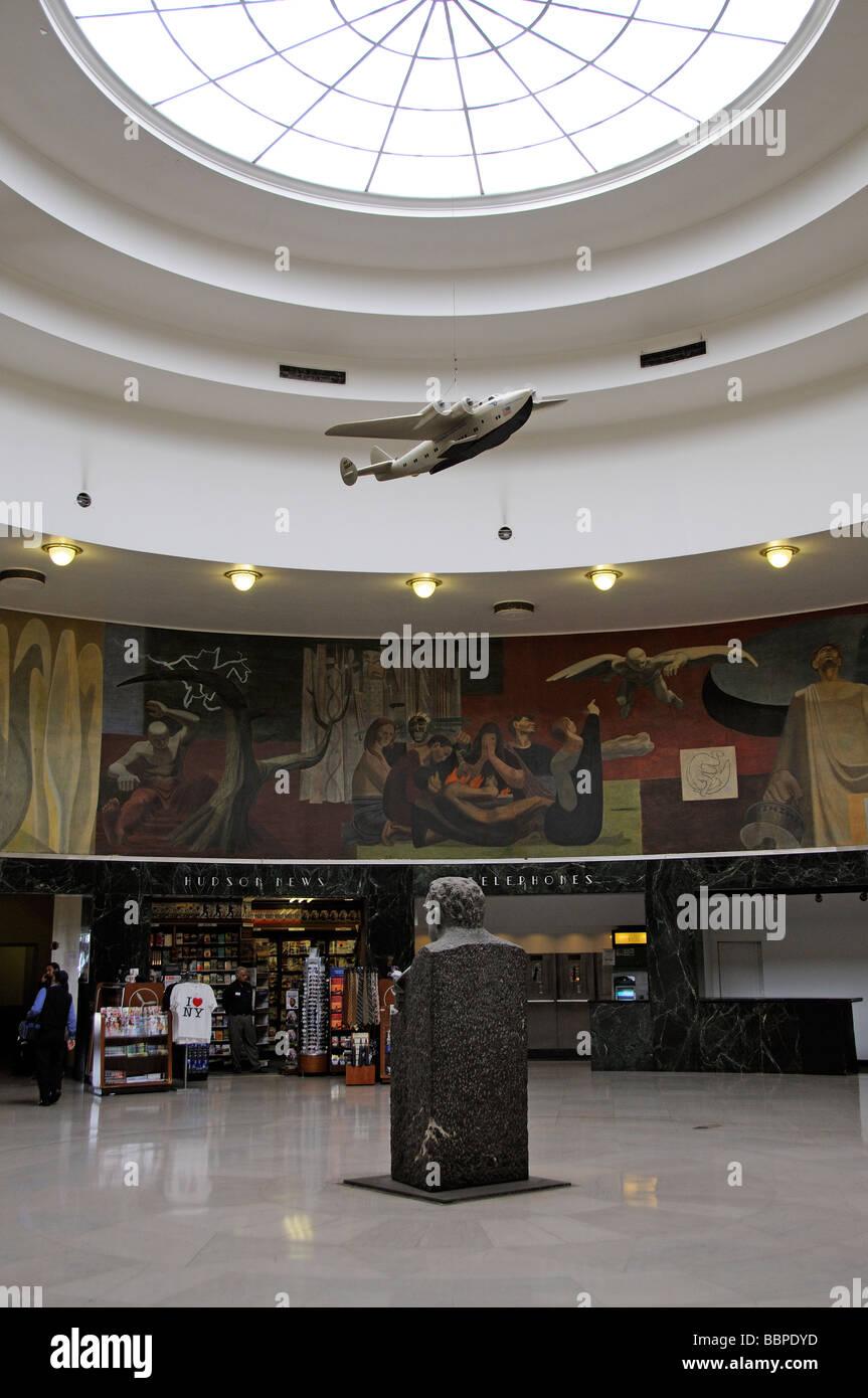 Marine Air terminal an art deco hstoric building La Guardia Airport ...