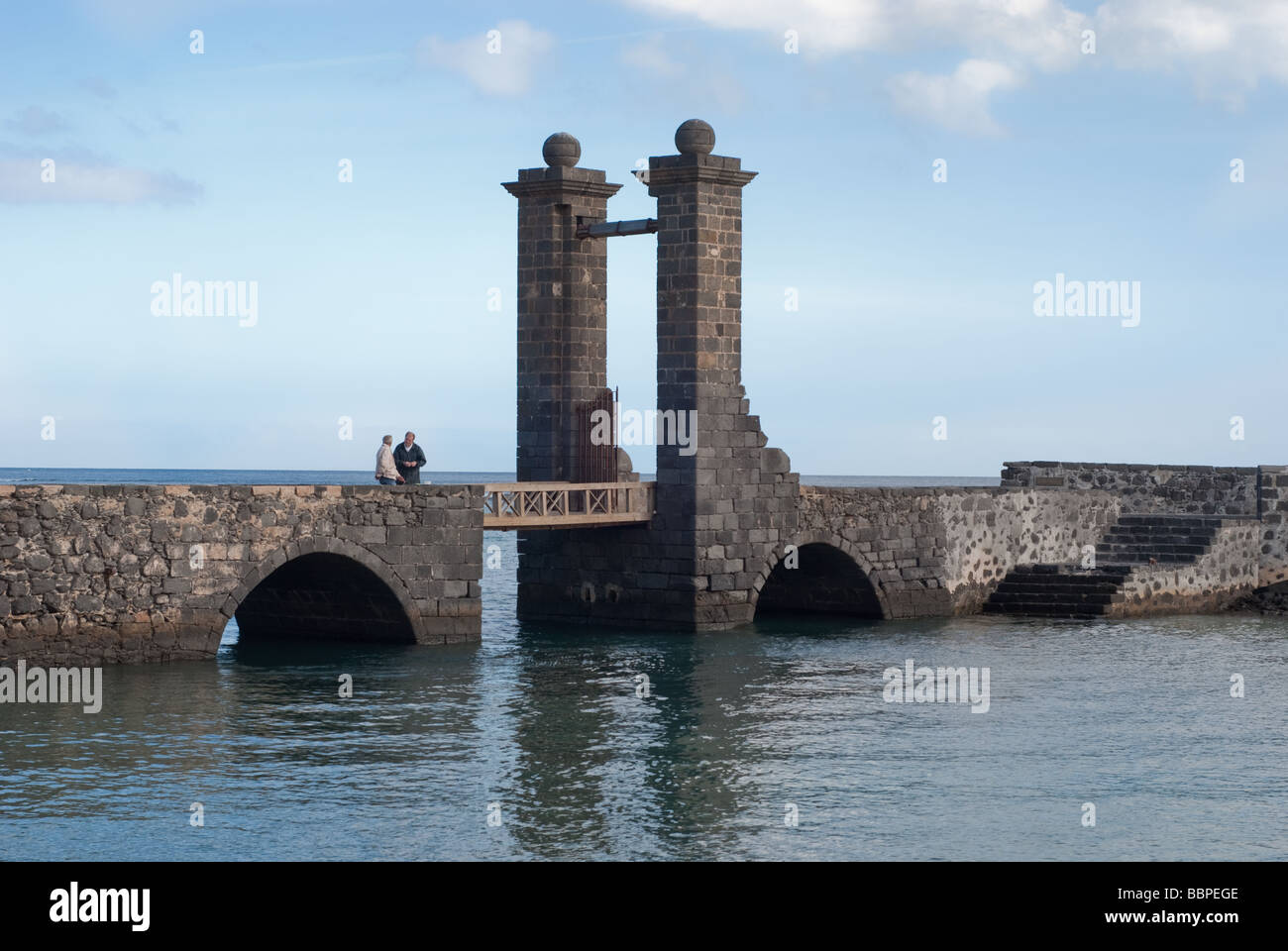 Puente de las Bolas Arrecife, Lanzarote, Spain Stock Photo