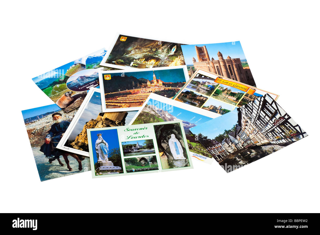 Postcards - Stock Image