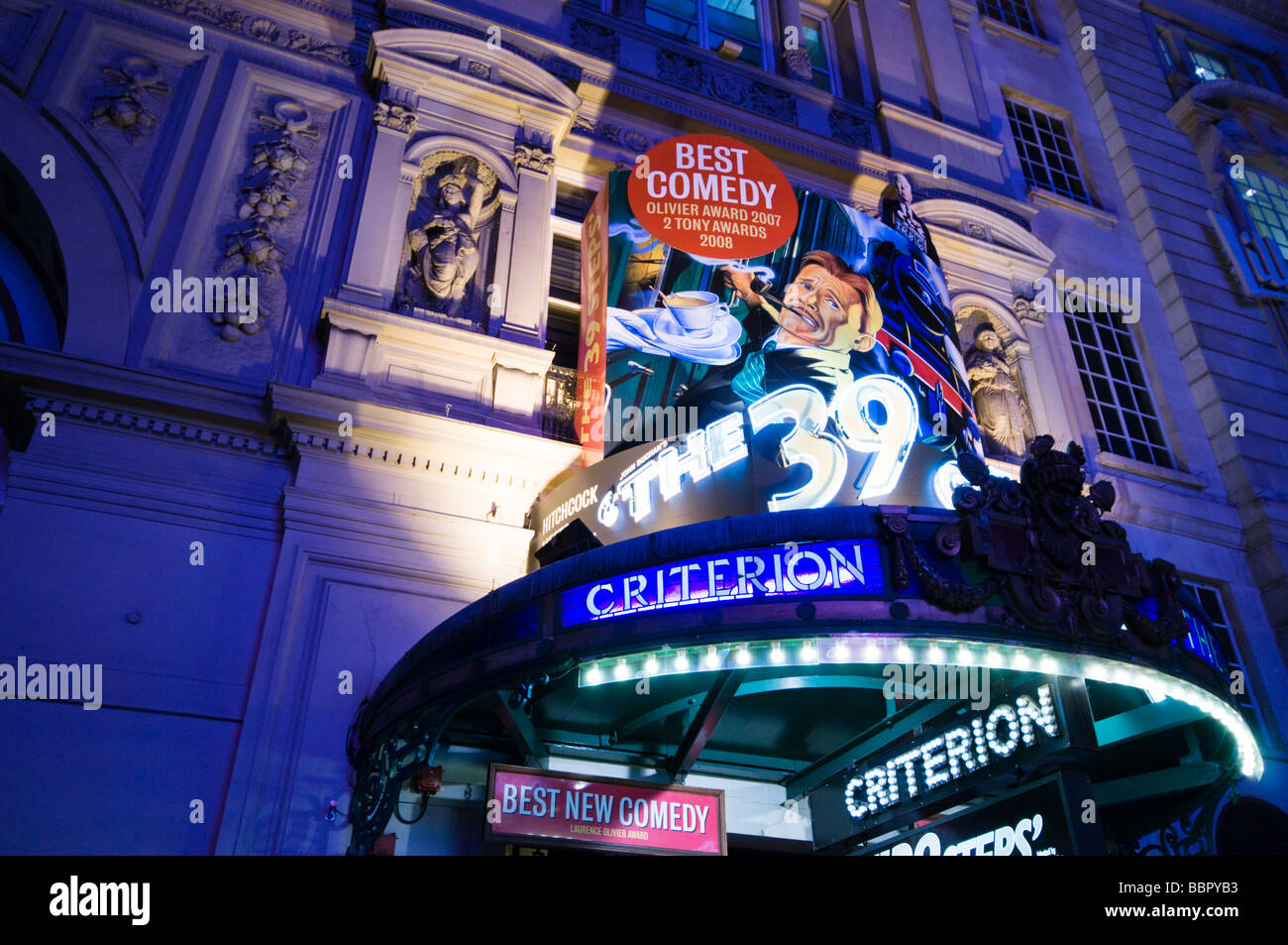 Criterion Theatre, West End, London, UK - Stock Image