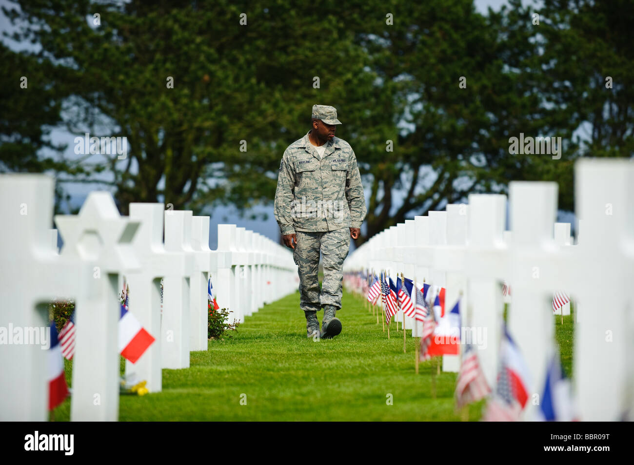 65th D Day Anniversary Normandy American Cemetery