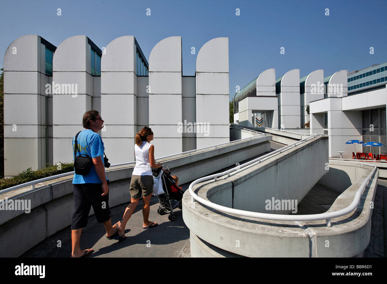 BAUHAUS ARCHIVES, BAUHAUS ARCHIV, MUSEUM FUR GESTALTUNG, BERLIN, GERMANY - Stock Image