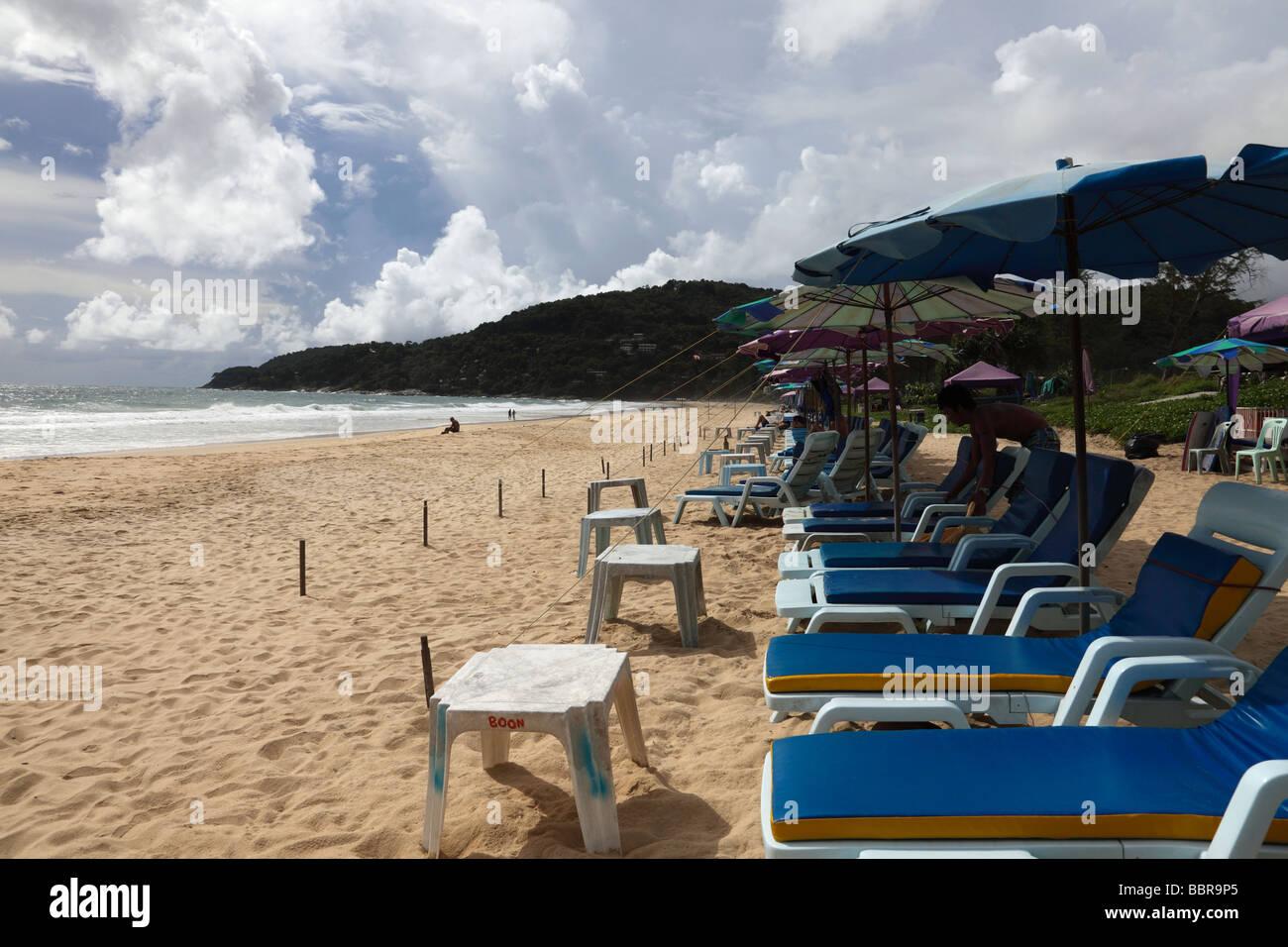 Karon beach Thailand - Stock Image