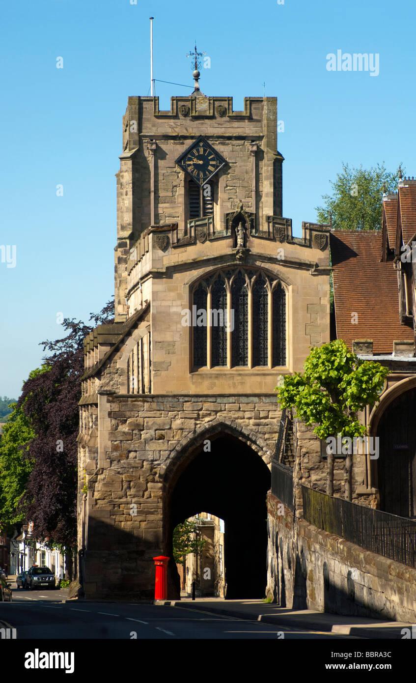 Westgate, Warwick, Warwickshire, UK. - Stock Image