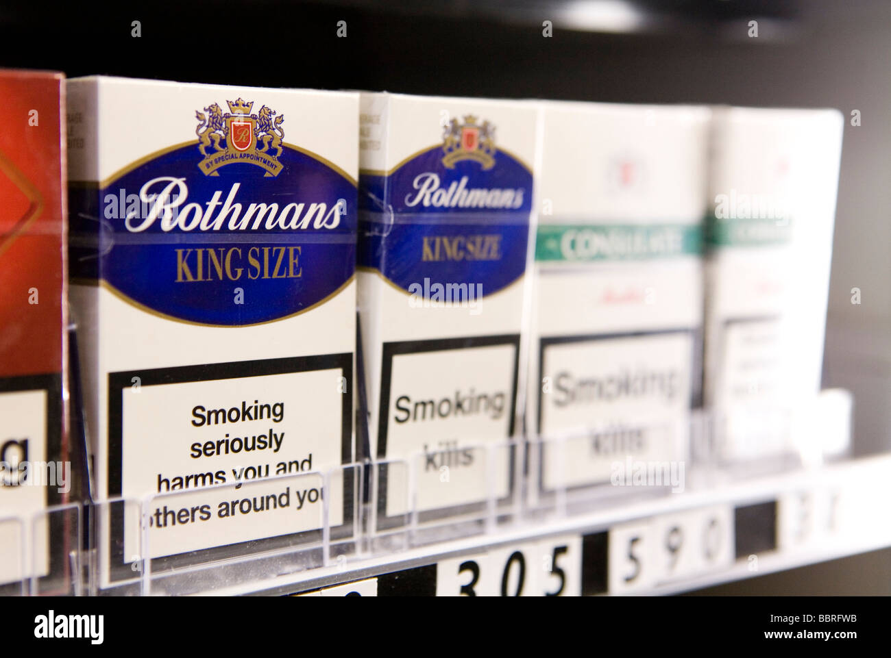 Cost of Bond cigarettes in Missouri