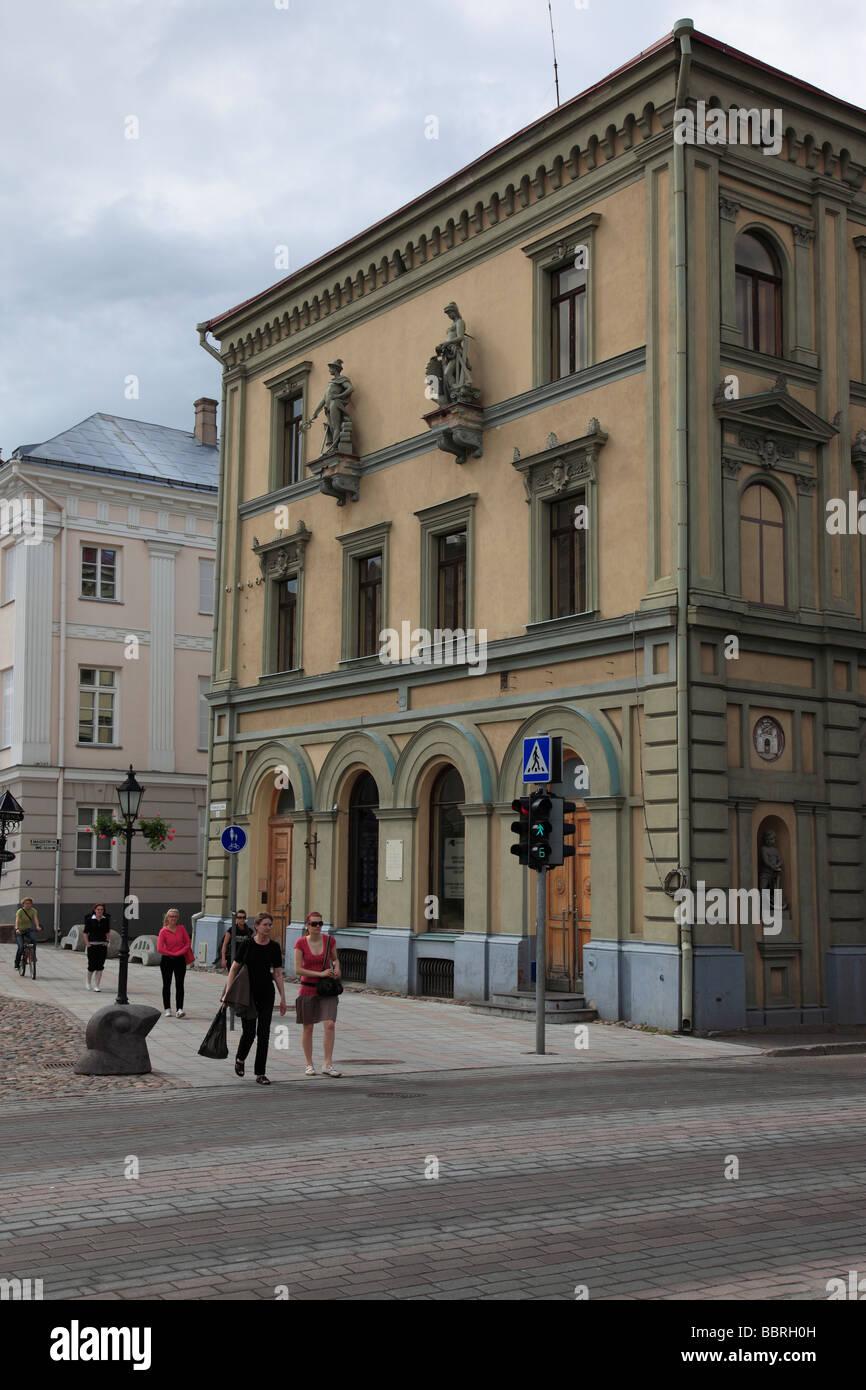 city of Tartu, Estonia, Baltic State, Eastern Europe. Photo by Willy Matheisl - Stock Image