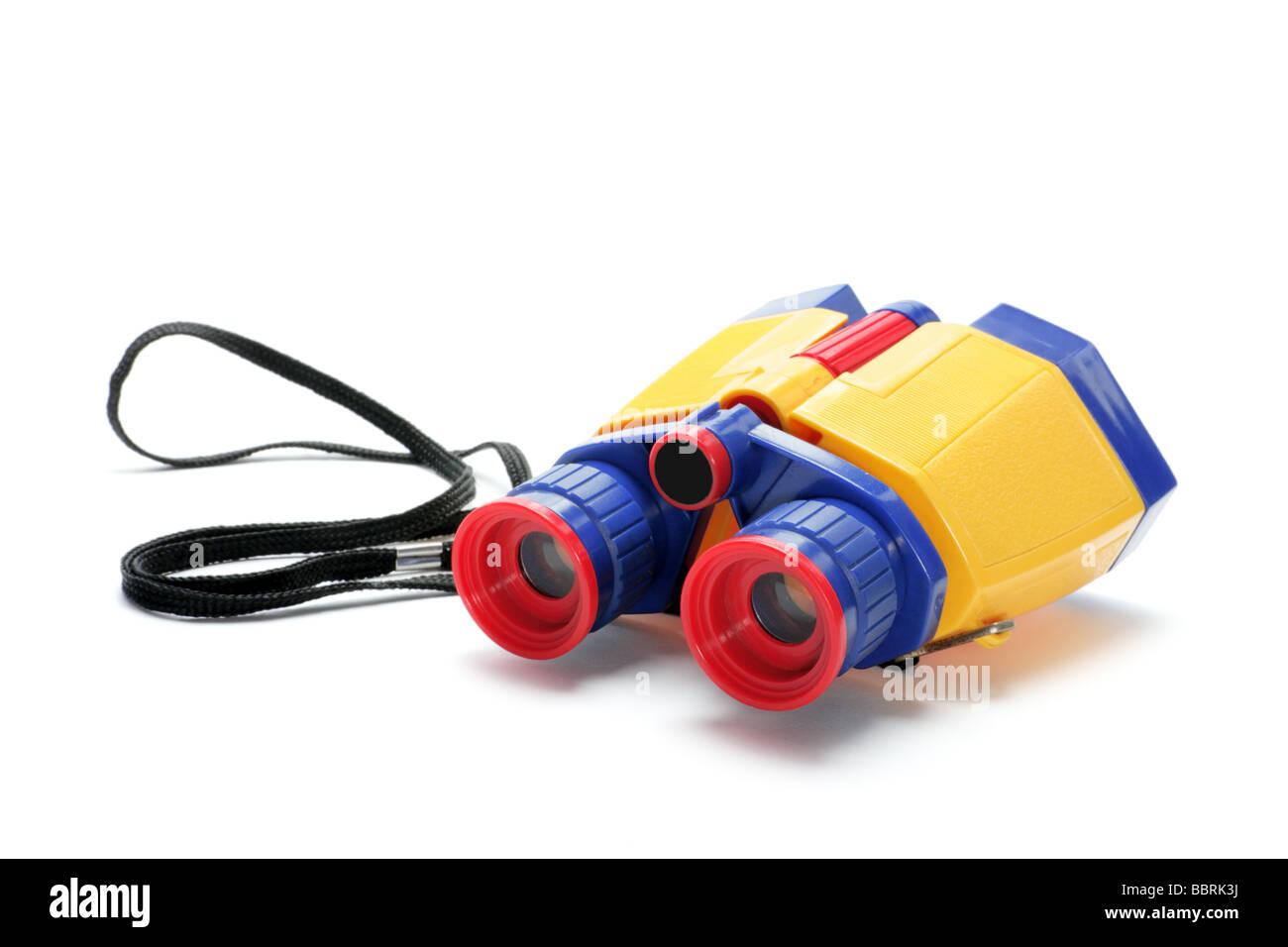 Toy Binoculars - Stock Image