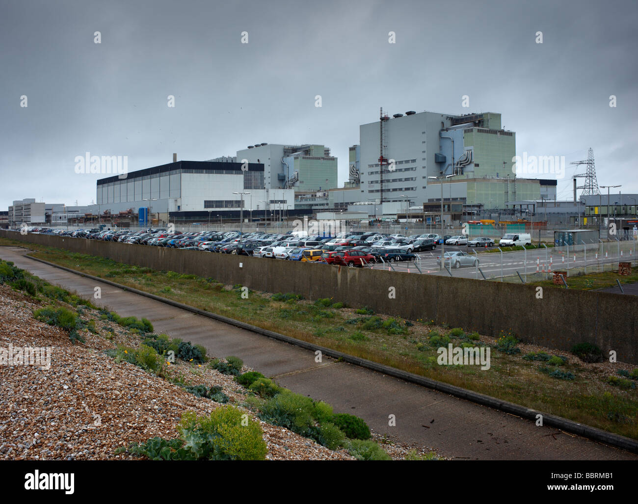 Dungeness nuclear power station Dungeness Kent England UK - Stock Image