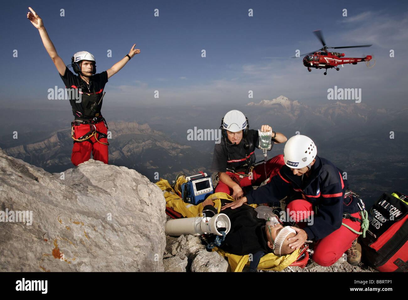 Mountain Rescue: Mont Blanc